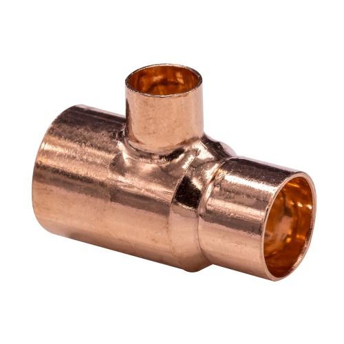 plumbing New End feed equal Tee 54mm water Uk seller copper