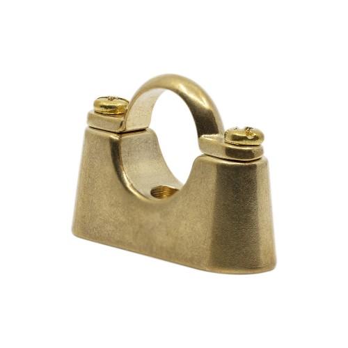 Screw-on Bracket Brass